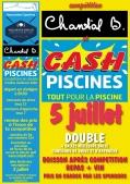 illustration actualité Cash Piscine - Chantal B