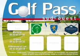 illustration promotion GOLF PASS SUD OUEST