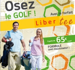 illustration promotion LIBERTEE GOLF